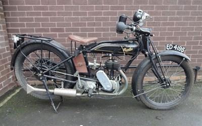 Lot 55-1926 Humber 2 3/4hp