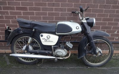 Lot 43-1963 Suzuki M15 Sportsman
