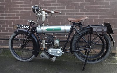 Lot 70-1924 Triumph Model LW 'Junior'