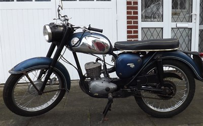 Lot 21 - 1968 BSA D14/4 Bantam