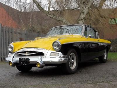 Lot 81 - 1955 Studebaker Champion Regal