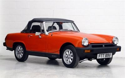 Lot 12-1980 MG Midget 1500