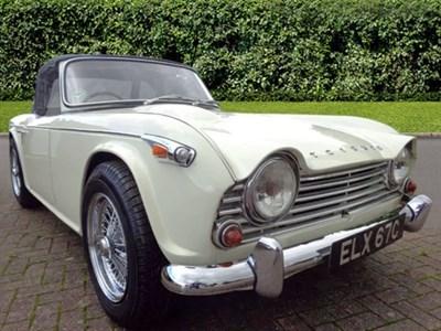 Lot 36-1965 Triumph TR4A IRS