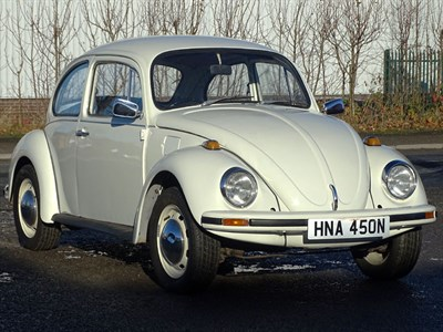 Lot 3 - 1975 Volkswagen Beetle 1200