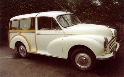 Lot 15-1969 Morris Minor 1000 Traveller