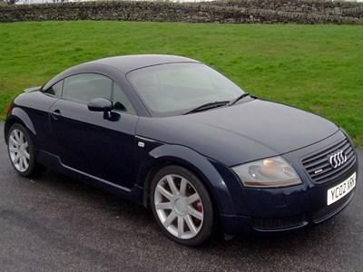 Lot 16-2002 Audi TT Quattro