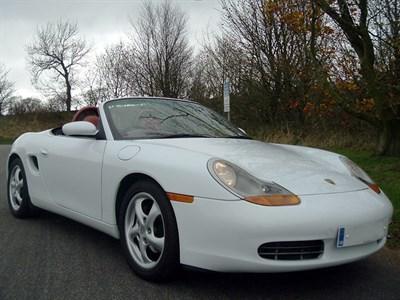 Lot 8-1997 Porsche Boxster