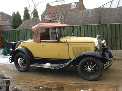 Lot 8-1930 Ford Model A Roadster