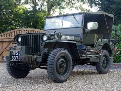 Lot 78-1943 Ford GPW Jeep