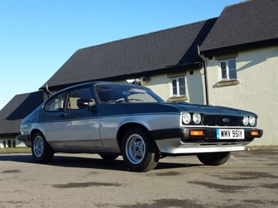 Lot 20-1982 Ford Capri 1.6 Calypso