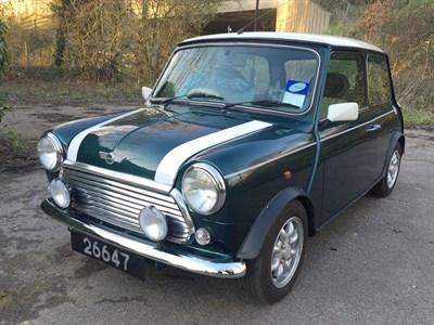 Lot 22-1999 Rover Mini Cooper