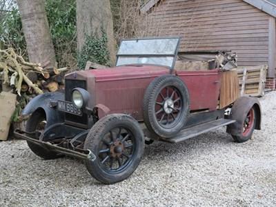 Lot 70-1928 Morris Oxford Tourer