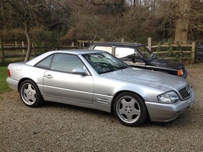 Lot 2-1999 Mercedes-Benz SL 320