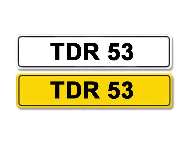 Lot 6 - Registration Number TDR 53