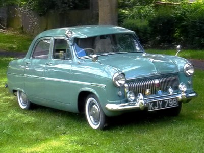 Lot 4-1955 Ford Consul