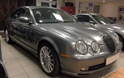 Lot 24-2003 Jaguar S-Type 4.2 V8 Sport