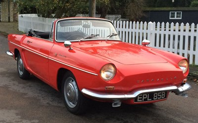 Lot 76-1964 Renault Caravelle Convertible