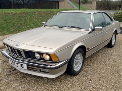 Lot 75-1987 BMW 635 CSi