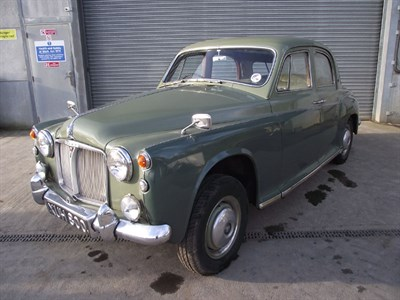 Lot 54-1961 Rover P4 80