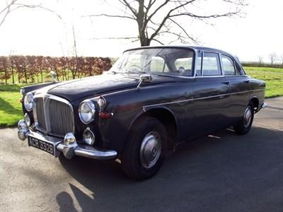 Lot 51-1964 Rover P5 3 Litre Coupe