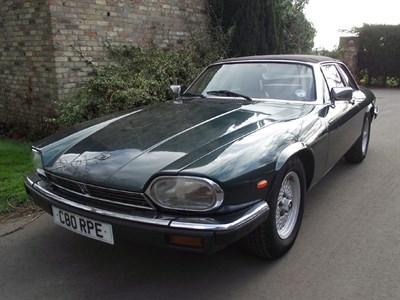 Lot 52-1985 Jaguar XJ-SC 5.3