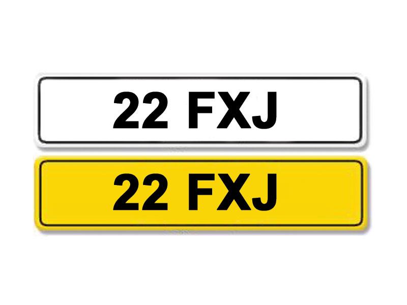 Lot 11-Registration Number 22 FXJ