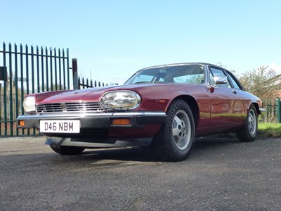 Lot 45-1986 Jaguar XJ-SC 5.3