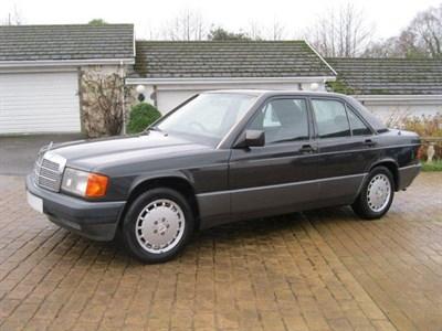 Lot 95-1992 Mercedes-Benz 190 E