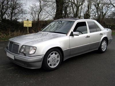 Lot 92-1992 Mercedes-Benz 500 E
