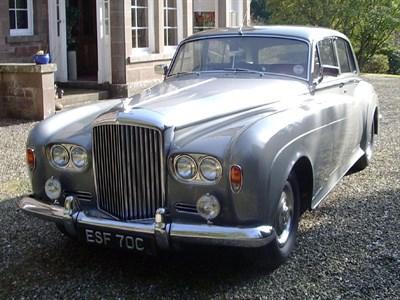Lot 64-1965 Bentley S3 Saloon