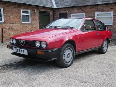 Lot 87-1983 Alfa Romeo GTV 2.0