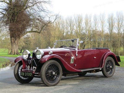 Lot 28 - 1933 Riley 9 Lynx Special Tourer