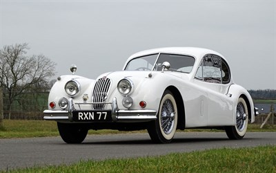 Lot 25 - 1955 Jaguar XK140 SE Fixed Head Coupe