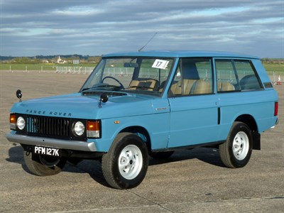 Lot 17 - 1971 Range Rover 'Two Door'