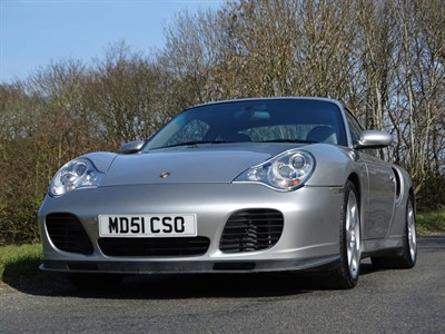 Lot 57 - 2001 Porsche 911 Turbo
