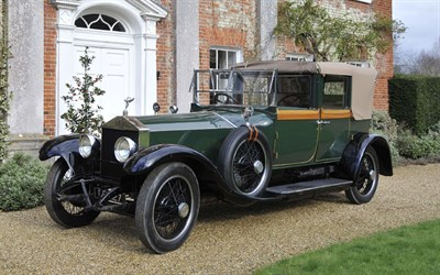 Lot 92-1923 Rolls-Royce Silver Ghost Cabriolet de Ville