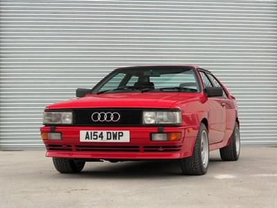 Lot 27-1984 Audi Quattro