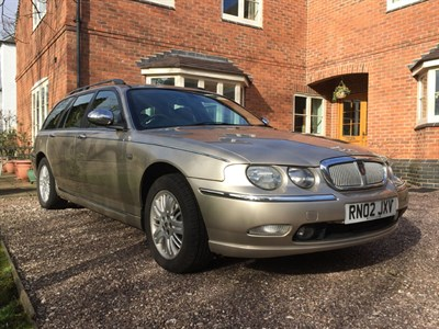 Lot 85-2002 Rover 75 2.0 CDT Connoisseur