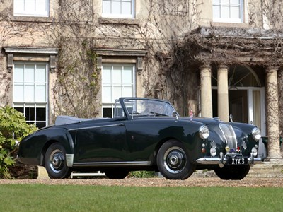 Lot 31 - 1954 Lagonda 3 Litre Drophead Coupe