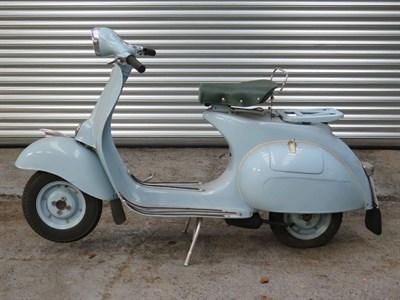 Lot 45-c.1956 Vespa 125