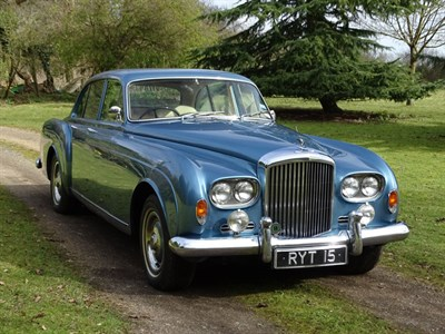 Lot 85-1963 Bentley S3 Continental Flying Spur