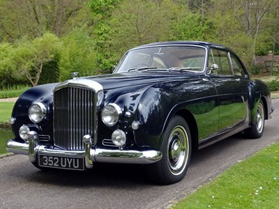 Lot 42-1956 Bentley S1 Continental Fastback