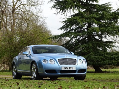 Lot 84 - 2005 Bentley Continental GT Mulliner