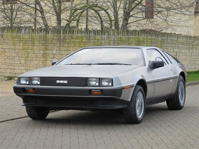 Lot 5 - 1981 De Lorean DMC12