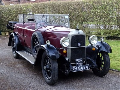 Lot 34 - 1929 Vauxhall 20/60 Tourer