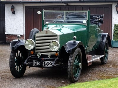 Lot 35 - 1924 Rolls-Royce 20hp Tourer