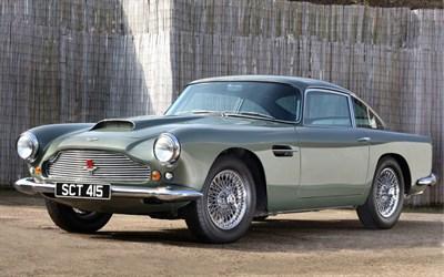 Lot 81-1960 Aston Martin DB4 Series II