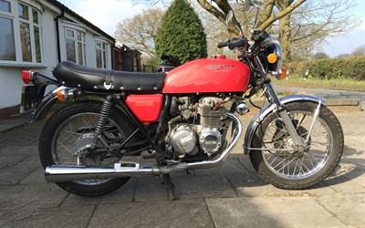 Lot 73-1977 Honda CB400F