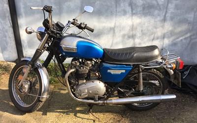 Lot 33-1978 Triumph T140 Bonneville
