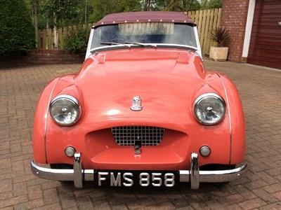 Lot 12-1954 Triumph TR2